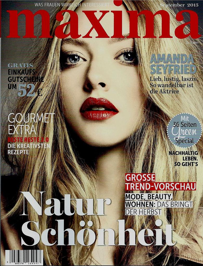 maxima September 2015 - ADELINE GERMAIN