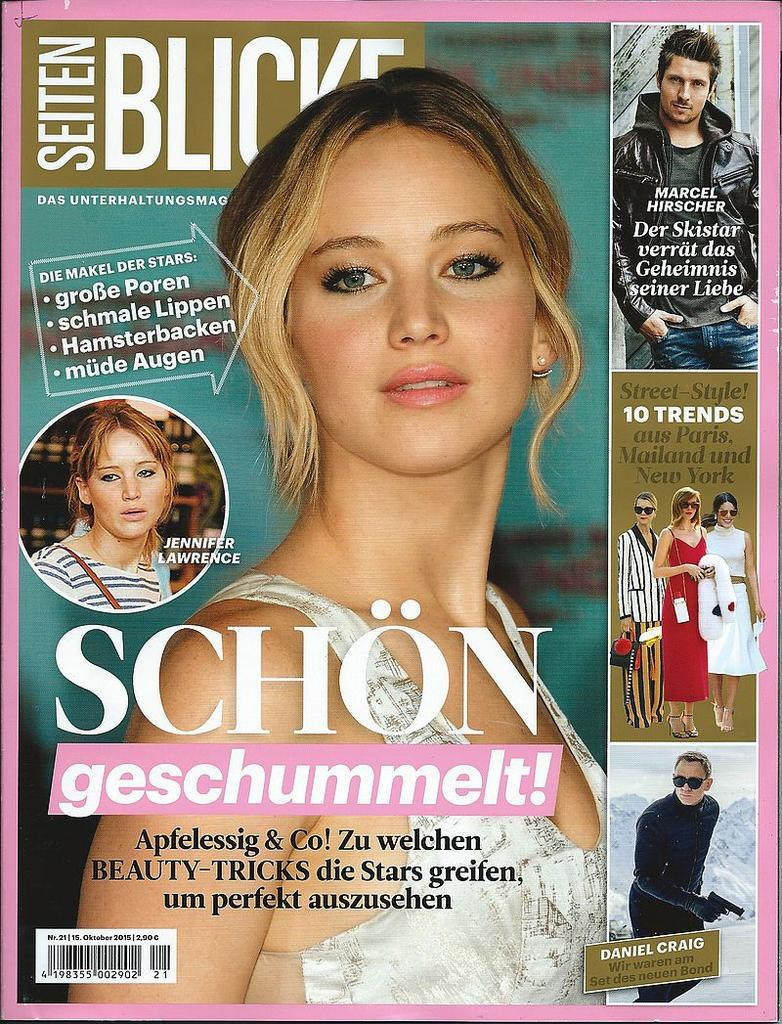 Seitenblicke Magazin October 2015 - ADELINE GERMAIN