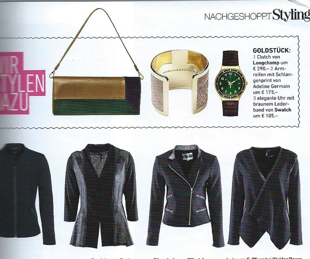 Style up your Life September 2015 - ADELINE GERMAIN Salmon eather cuff
