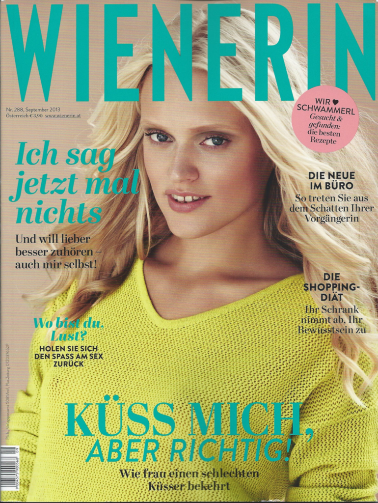 WIENERIN September 2013 - ADELINE GERMAIN