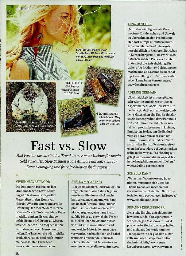 maxima September 2015 - Fast vs. Slow ADELINE GERMAIN
