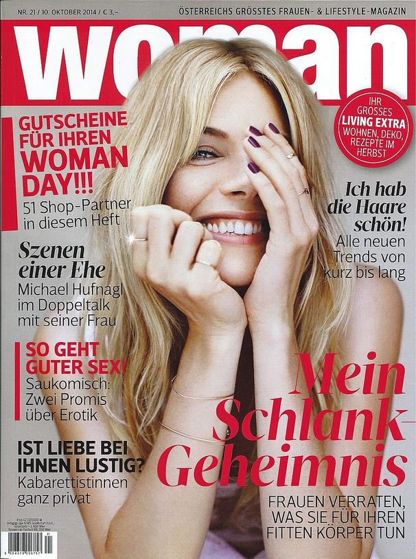 WOMAN October 2014 - ADELINE GERMAIN